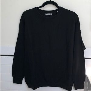 Black Vince Pullover Sweater